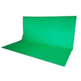 300 x 300 cm Fotostudio Hintergrund Chromakey Green Screen in Grün - 1