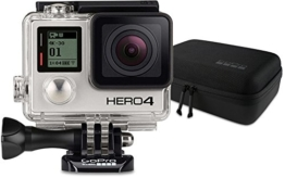 GoPro HERO4 Black Adventure Actionkamera (12 Megapixel, 41,0 mm x 59,0 mm x 29,6 mm) + GoPro Casey Camera Mounts Case (Wasserbeständig) - 1