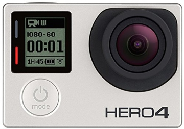 GoPro HERO4 Silver Adventure Actionkamera (12 Megapixel, 41,0 mm x 59,0 mm x 29,6 mm) - 2