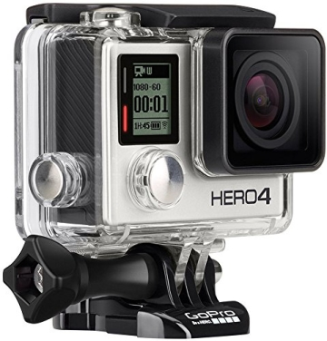 GoPro HERO4 Silver Adventure Actionkamera (12 Megapixel, 41,0 mm x 59,0 mm x 29,6 mm) - 4