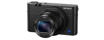 Sony DSC-RX100 IV Digitalkamera (Stacked Exmor RS CMOS Sensor, 40-fach Super-Zeitlupe, 4K Video, Anti-Distortion Verschluss, Pop-Up-Sucher, 24-70 mm ZEISS Vario-Sonnar T) schwarz - 4