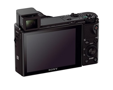 Sony DSC-RX100 IV Digitalkamera (Stacked Exmor RS CMOS Sensor, 40-fach Super-Zeitlupe, 4K Video, Anti-Distortion Verschluss, Pop-Up-Sucher, 24-70 mm ZEISS Vario-Sonnar T) schwarz - 7