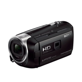 Sony HDR-PJ410 Full HD Camcorder (30-fach opt. Zoom, 60x Klarbild-Zoom, Weitwinkel mit 26,8 mm, Optical Steady Shot) schwarz - 1