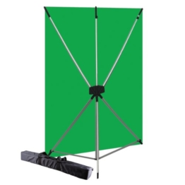 Westcott Basics Greenscreen X-Drop (1,5 x 2,1 m) Grün - 1